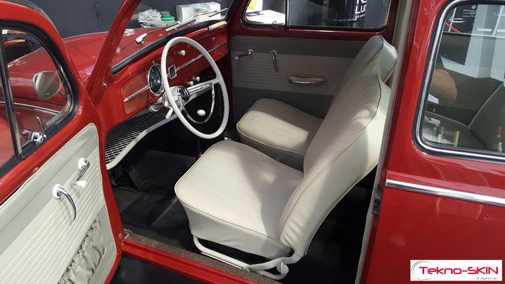 PULIZIA E SANIFICAZIONE INTERNI VW MAGGIOLINO DEL'63