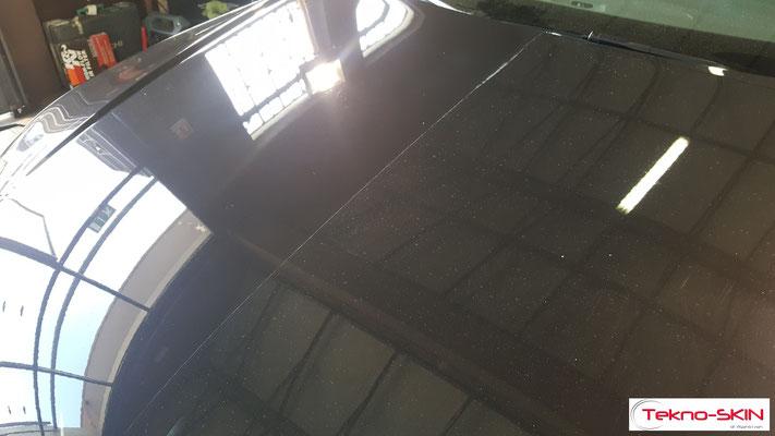 LUCIDATURA CARROZZERIA AUDI A7  - Lucidatura One Step con Compound  - Stesura Sigillante Finale effetto Seta - 50/50 Cofano