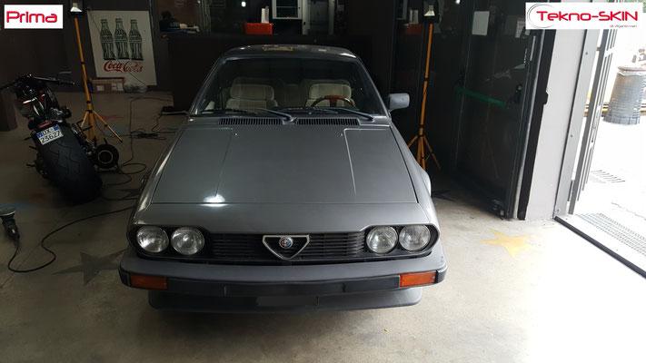 LUCIDATURA ALFA ROMEO GTV del 1981 - Prima