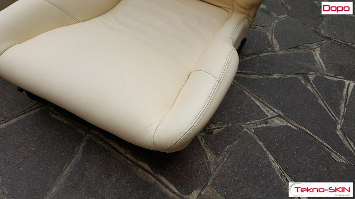 RISTRUTTURAZIONE INTERNI LOTUS ESPRIT S4  Ristrutturazione interni Lotus Esprit S4 con colorazione a campione - Dopo