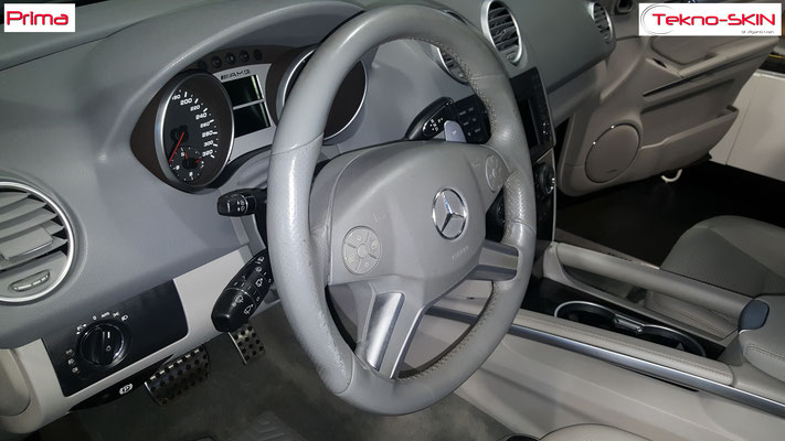 VOLANTE IN PELLE MERCEDES ML63 AMG - Prima