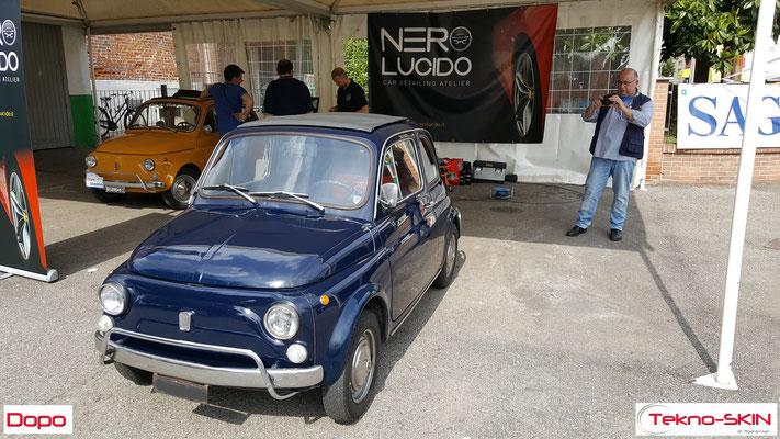 LUCIDATURA FIAT 500L 1972 - Dopo