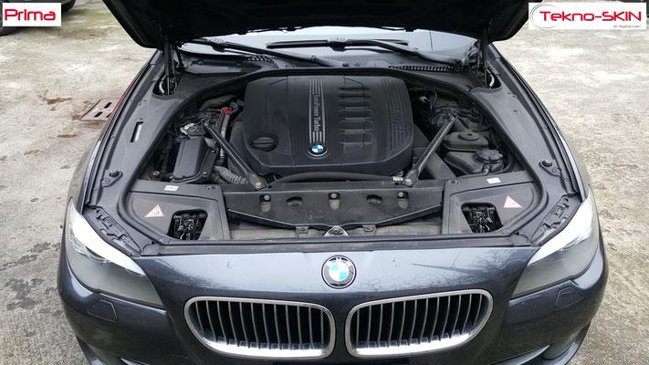 NANOTECNOLOGIA su CARROZZERIA BMW 535d - Prima
