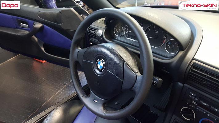VOLANTE IN PELLE BMW Z3 - Dopo