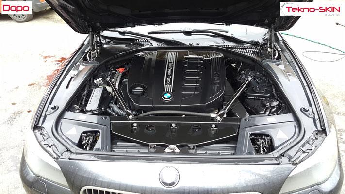 NANOTECNOLOGIA su CARROZZERIA BMW 535d - Dopo