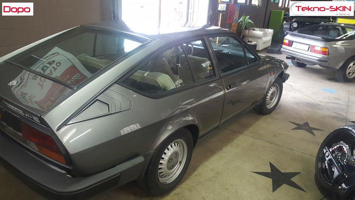 LUCIDATURA ALFA ROMEO GTV del 1981 - Dopo