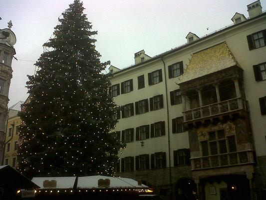 Innsbruck mit goldenen Dachl