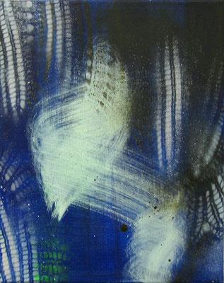 Untitled - 2012 - 30cm x 20cm - Oil/Lack on Canvas
