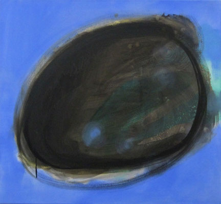 Atoll #107 - 2014 - 74cm x 80cm - Oil on Canvas
