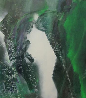 Untitled - 2011 - 150cm x 130cm - Oil/Lack on Canvas