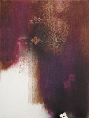 Untitled - 2011 - 40cm x 30cm - Oil/Lack on Canvas