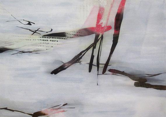 Untitled - 2018 - 100cm x 140cm - Oil/Lack on Canvas