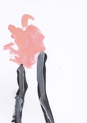 Gagelig - 2020 - 29,7cm x 21cm - Oil on Paper