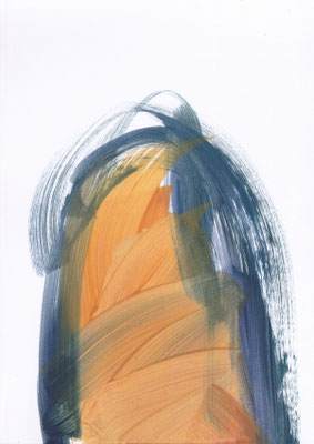 Portal - 2020 - 29,7cm x 21cm - Oil on Paper