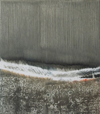 Untitled - 2011 - 40cm x 35cm - Oil on Canvas