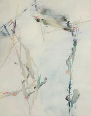 Untitled - 2018 - 140cm x 100cm - Oil/Lack on Canvas