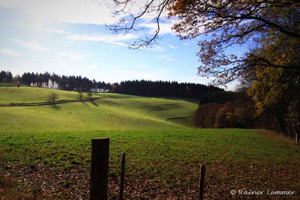 sonniger Herbsttag bei Roßbach