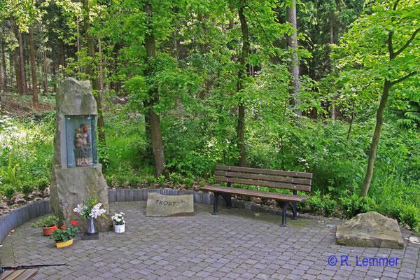 Bildstock in der Nähe von Pleckhausen