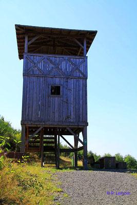 Nachbau Limes Wachtturm