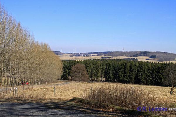 Blick Richtung Höllberg
