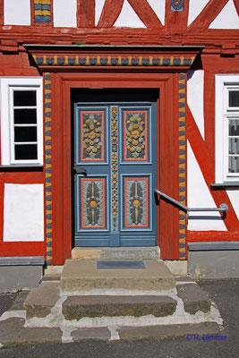 Eingangstür Rathaus Rehe