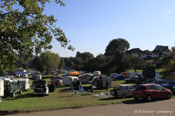 Trabi Treffen in Döttesfeld
