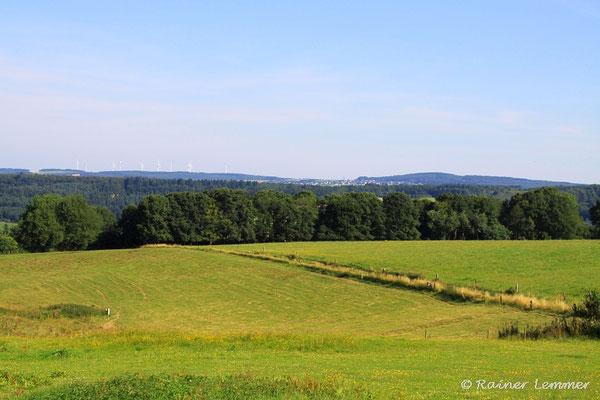 Blick von Hachenburg ins Nistertal