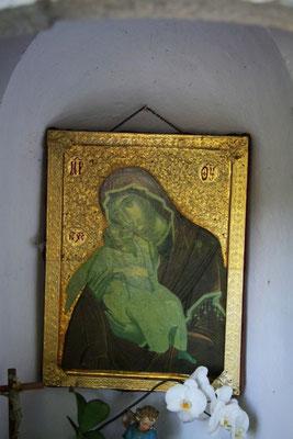 Maria Bildnis in der Kapelle