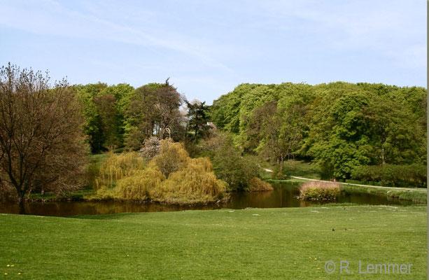 Park bei Schloss Liselund