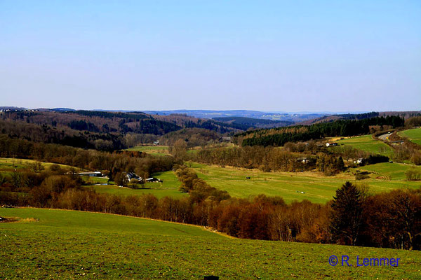 Blick von Hachenburg nach Marienstatt