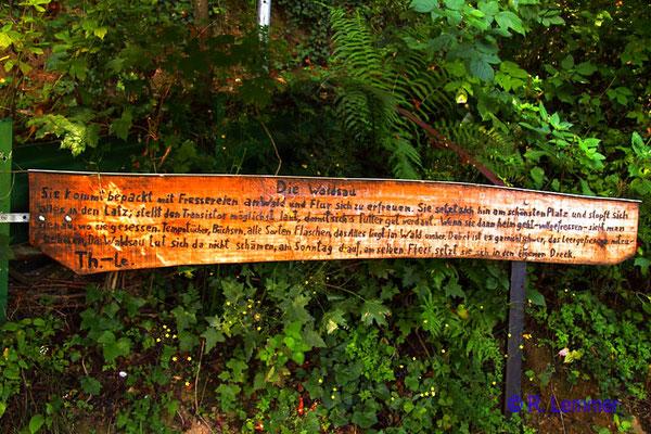 """Viel Wahrheit übber die """"Waldsau"""" in der Nähe von Waldbreitbach"""