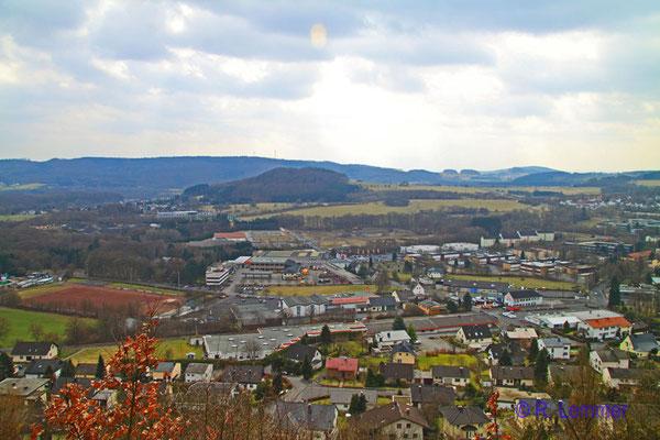 Blick vom Katzenstein auf Westerburg