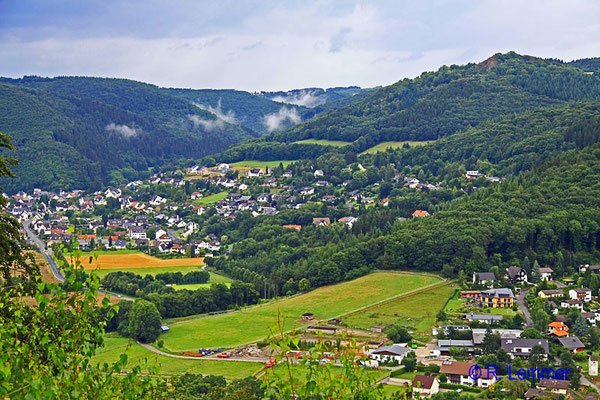 Blick Richtung Lache u. Roßbach