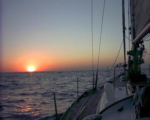 Meditazione in barca