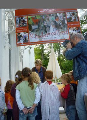 Herzlich WILLKOMMEN zum Kindermalfest...