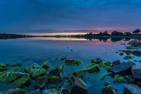 Sonnenuntergang Banter See