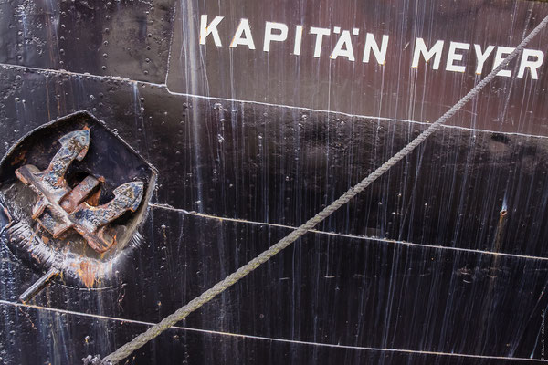 Tonnenleger Kapitän Meyer am Bontekai Wilhelmshaven