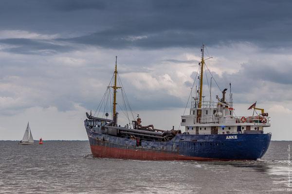 Baggerschiff Anke