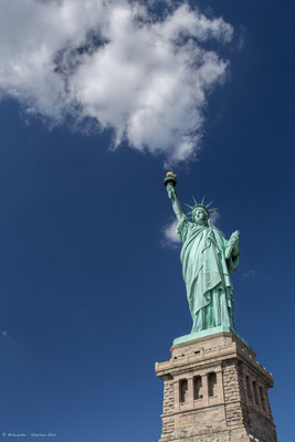 Rauchzeichen? Statue of Liberty, New York