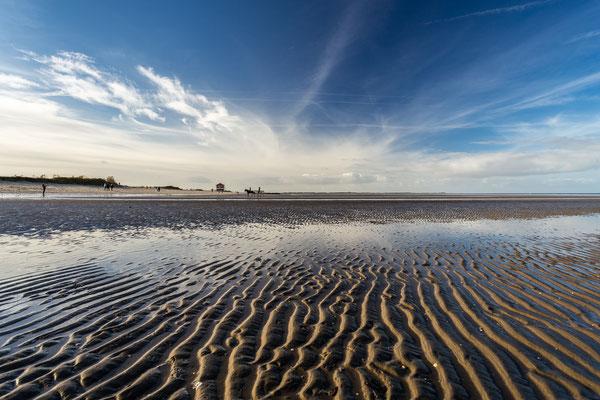Strand Hooksiel bei Ebbe