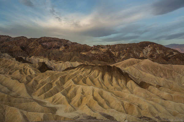 Sonnenaufgang am Zabriskie Point