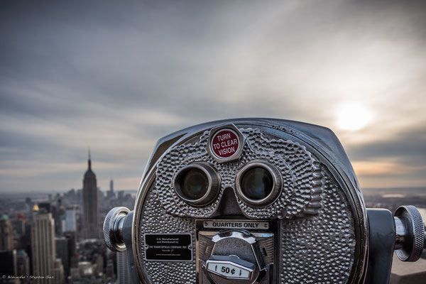 Top of the Rock • Rockefeller Center, New York