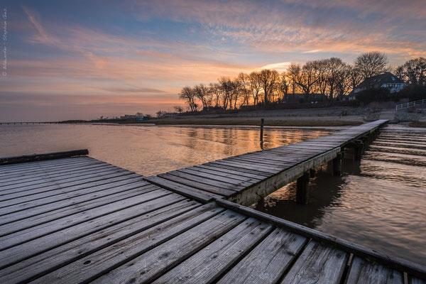 Sonnenaufgang in Dangast