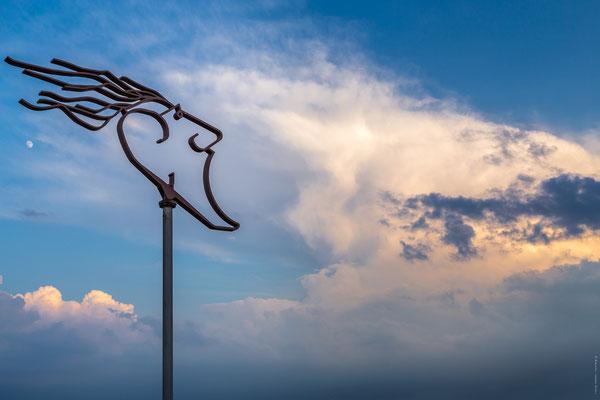 Windfänger am Südstrand