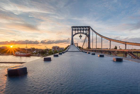 Sonnenuntergang Kaiser-Wilhelm-Brücke