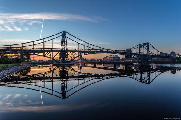 Morgens an der Kaiser-Wilhelm-Brücke