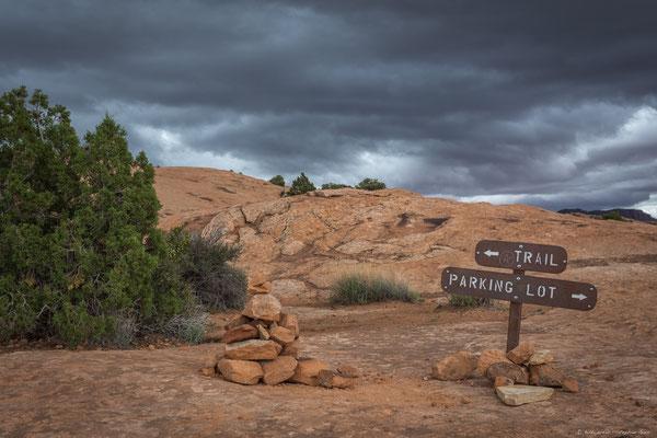 Trail zum Delicate Arch