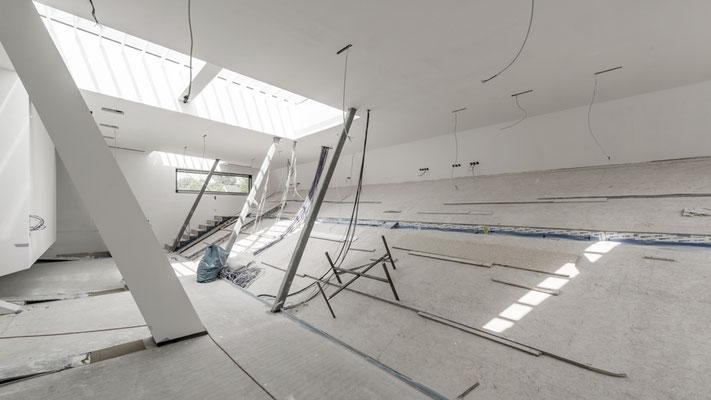 Eindrücke des leeren Kino- und Atelierbereiches, Foto: Aryan Mirfendereski