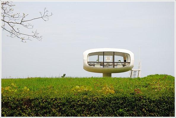 Rügen-Binz  - Architekt - Ulrich Müther - Rettungsturm
