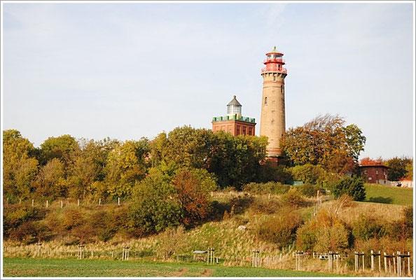 Kap Arkona-Leuchtturm-Rügen
